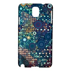 Blue Bubbles Samsung Galaxy Note 3 N9005 Hardshell Case by KirstenStar
