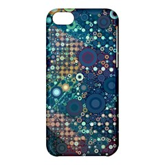 Blue Bubbles Apple Iphone 5c Hardshell Case by KirstenStar