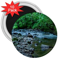 Rocky Stream 3  Magnets (10 Pack)  by trendistuff