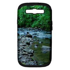 Rocky Stream Samsung Galaxy S Iii Hardshell Case (pc+silicone) by trendistuff