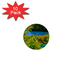 Plitvice, Croatia 1  Mini Buttons (10 Pack)  by trendistuff