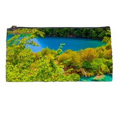 Plitvice, Croatia Pencil Cases by trendistuff
