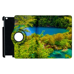 Plitvice, Croatia Apple Ipad 3/4 Flip 360 Case by trendistuff