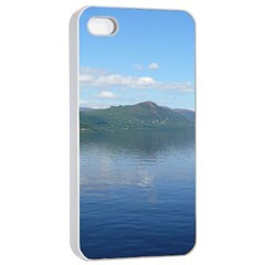 Loch Ness Apple Iphone 4/4s Seamless Case (white) by trendistuff