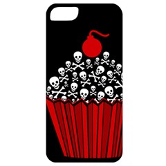 Skull Cupcake Apple Iphone 5 Classic Hardshell Case by waywardmuse