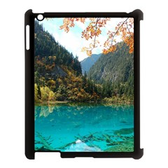Jiuzhaigou Valley 3 Apple Ipad 3/4 Case (black) by trendistuff