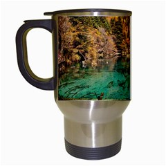 Jiuzhaigou Valley 1 Travel Mugs (white) by trendistuff