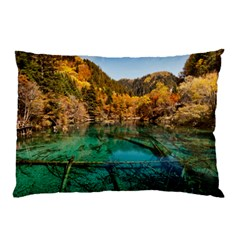Jiuzhaigou Valley 1 Pillow Cases