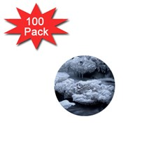 Ice And Water 1  Mini Buttons (100 Pack)  by trendistuff
