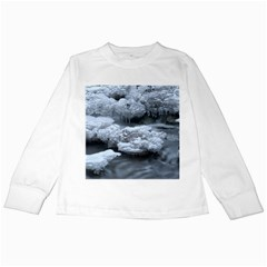 Ice And Water Kids Long Sleeve T-shirts by trendistuff