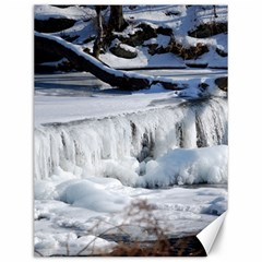 Frozen Creek Canvas 12  X 16   by trendistuff
