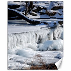 Frozen Creek Canvas 16  X 20   by trendistuff
