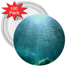 Crater Lake National Park 3  Buttons (100 Pack)  by trendistuff