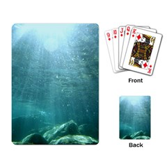Crater Lake National Park Playing Card by trendistuff
