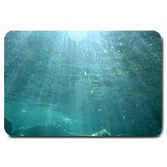Crater Lake National Park Large Doormat  by trendistuff