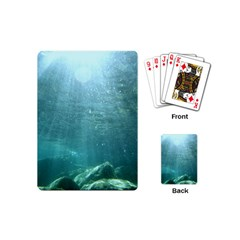 Crater Lake National Park Playing Cards (mini)  by trendistuff