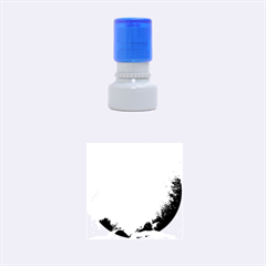 Crater Lake National Park Rubber Round Stamps (small) by trendistuff