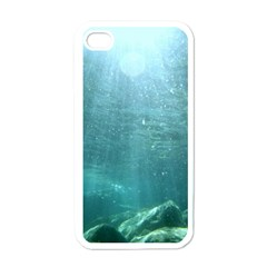 Crater Lake National Park Apple Iphone 4 Case (white)