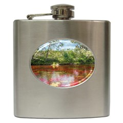 Cano Cristales 3 Hip Flask (6 Oz) by trendistuff