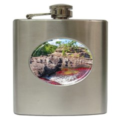 Cano Cristales 2 Hip Flask (6 Oz) by trendistuff