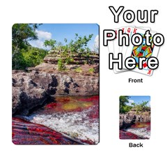 Cano Cristales 2 Multi Purpose Cards (rectangle)  by trendistuff
