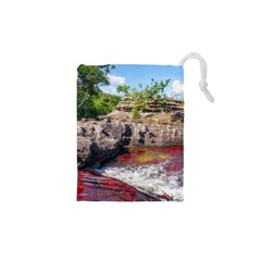 Cano Cristales 2 Drawstring Pouches (xs)  by trendistuff