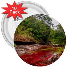 Cano Cristales 1 3  Buttons (10 Pack)
