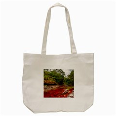Cano Cristales 1 Tote Bag (cream)  by trendistuff