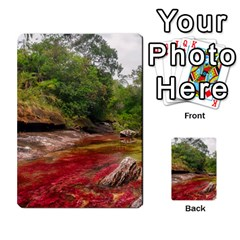 Cano Cristales 1 Multi Purpose Cards (rectangle)  by trendistuff