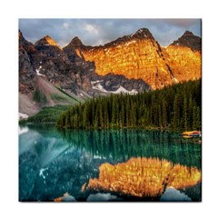 Banff National Park 4 Tile Coasters by trendistuff