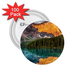 Banff National Park 4 2 25  Buttons (100 Pack)  by trendistuff