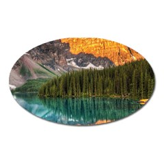 Banff National Park 4 Oval Magnet by trendistuff
