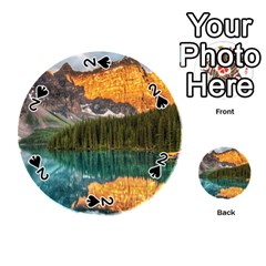Banff National Park 4 Playing Cards 54 (round)  by trendistuff