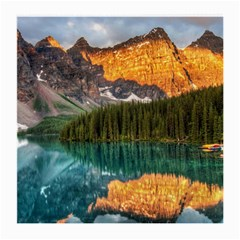 Banff National Park 4 Medium Glasses Cloth by trendistuff