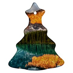 Banff National Park 4 Ornament (christmas Tree) by trendistuff