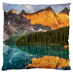 Banff National Park 4 Standard Flano Cushion Cases (one Side)  by trendistuff