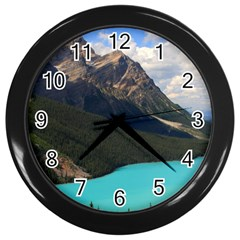Banff National Park 3 Wall Clocks (black) by trendistuff