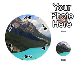 Banff National Park 3 Playing Cards 54 (round)  by trendistuff