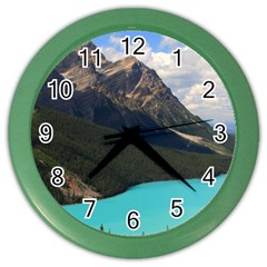 Banff National Park 3 Color Wall Clocks by trendistuff