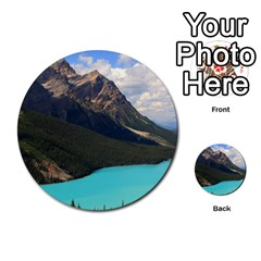 Banff National Park 3 Multi Purpose Cards (round)  by trendistuff