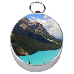 Banff National Park 3 Silver Compasses by trendistuff