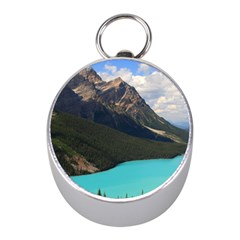 Banff National Park 3 Mini Silver Compasses by trendistuff