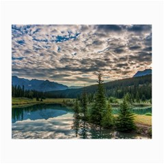 Banff National Park 2 Small Glasses Cloth by trendistuff