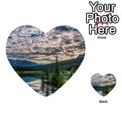 Banff National Park 2 Multi Purpose Cards (heart)
