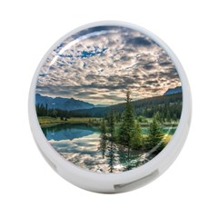Banff National Park 2 4 Port Usb Hub (two Sides)  by trendistuff