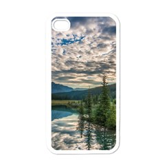 Banff National Park 2 Apple Iphone 4 Case (white) by trendistuff