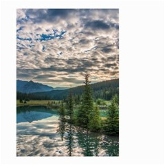 Banff National Park 2 Small Garden Flag (two Sides) by trendistuff