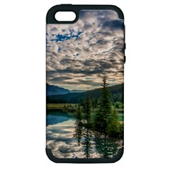 Banff National Park 2 Apple Iphone 5 Hardshell Case (pc+silicone) by trendistuff