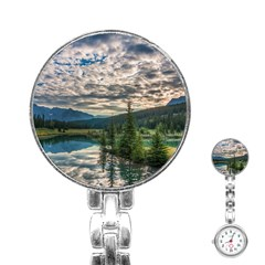 Banff National Park 2 Stainless Steel Nurses Watches by trendistuff