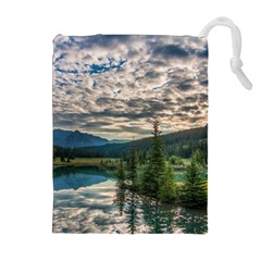 Banff National Park 2 Drawstring Pouches (extra Large) by trendistuff